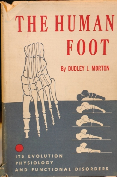 The Human Foot by Dr. Dudley  J. Morton,  the most important book abou the Morton's Toe